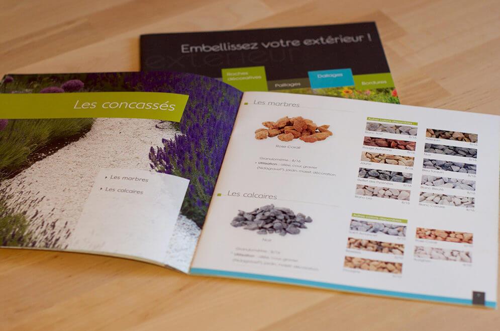 Création catalogue de la SARL Duffort