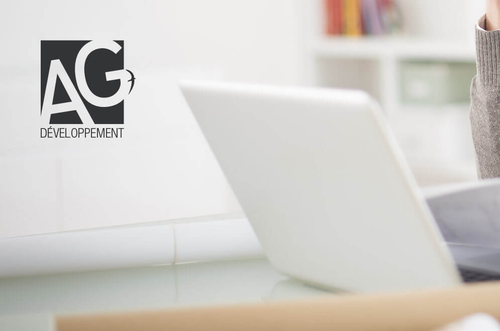 Création du logo pour le cabinet de conseil financier Ag-Développement