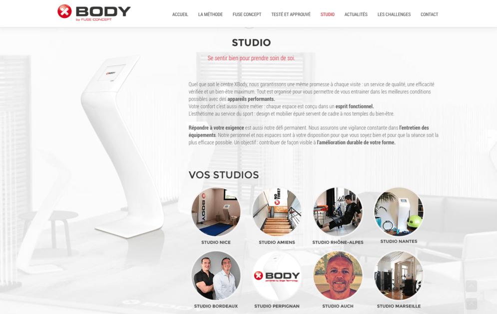 Site Xbody