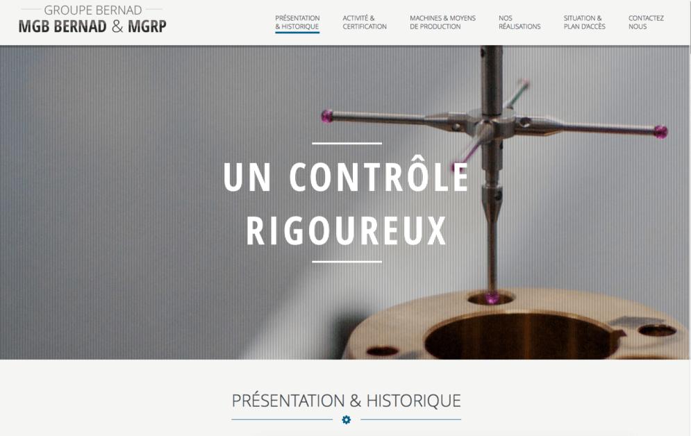 Création site internet industrie Hautes-Pyrénées