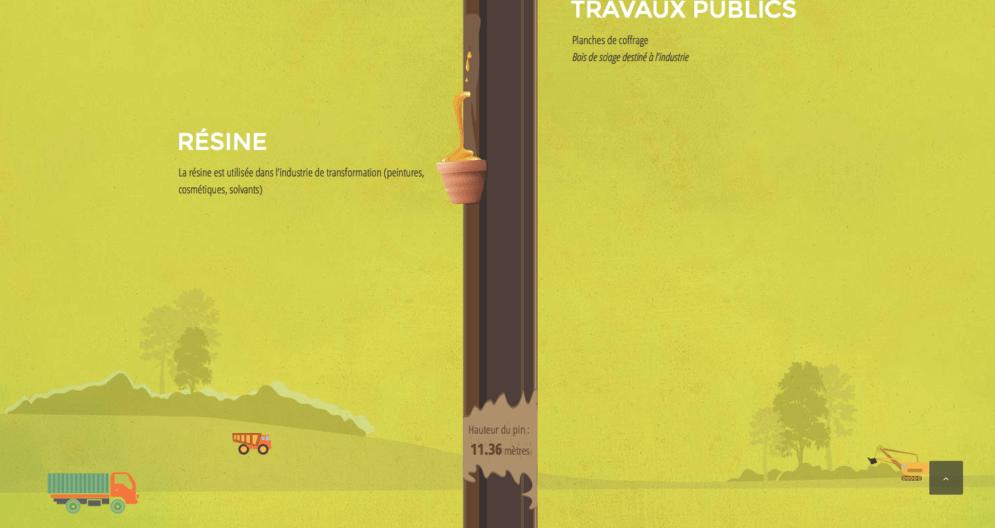 Animation pour la société Gascogne Bois