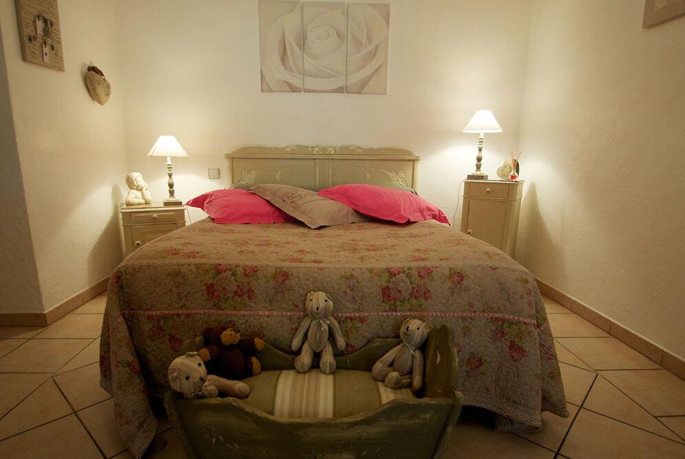 Ambiance d'une chambre d'hôte dans le Gers