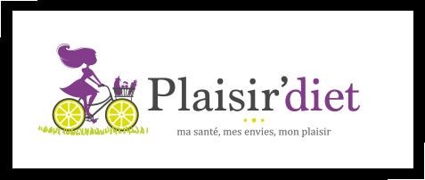 Création du logo Plaisir'diet