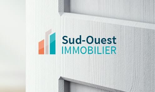 Création du logo et site internet pour Sud-Ouest-Immobilier
