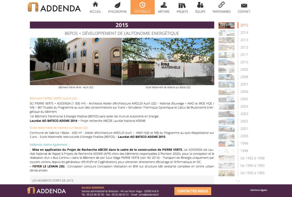Addenda : bureau d'étude dans le Gers