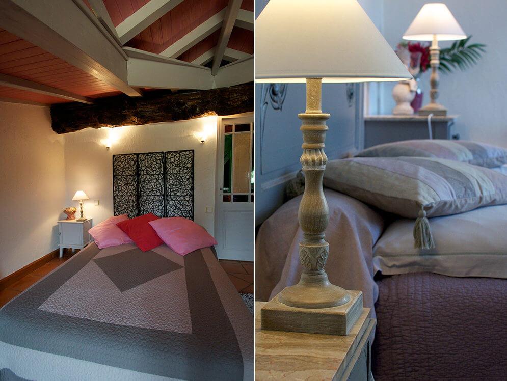 Chambres d'hôtes décorées avec goût