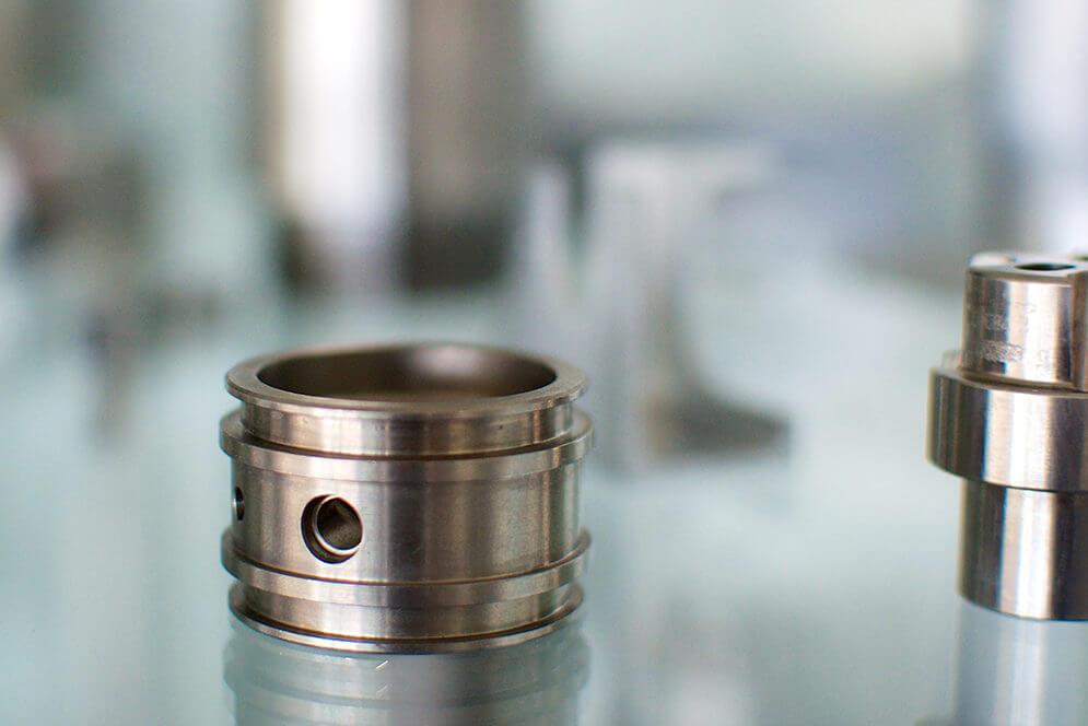 Photo pièces usinage métaux