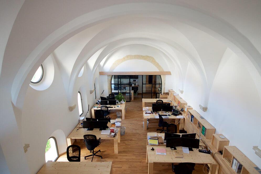 Photo restauration bâtiment bureaux