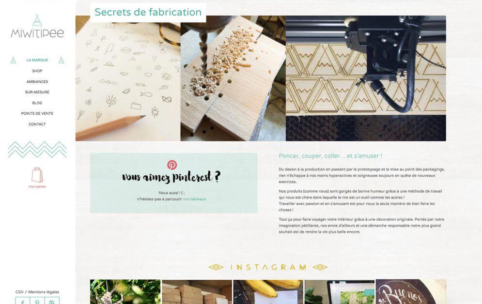 Miwitipee : Shop d'objets en bois fabriqués à Toulouse