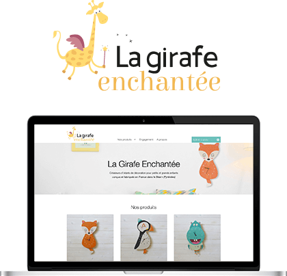 Illustration du site La Girafe Enchantée
