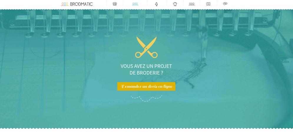Site internet Brodmatic à Ogeu