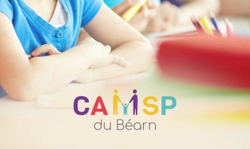 Création logo CAMSP Pau