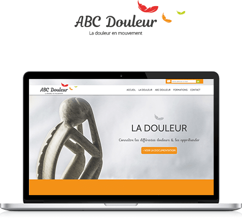 Illustration site internet ABC Douleur