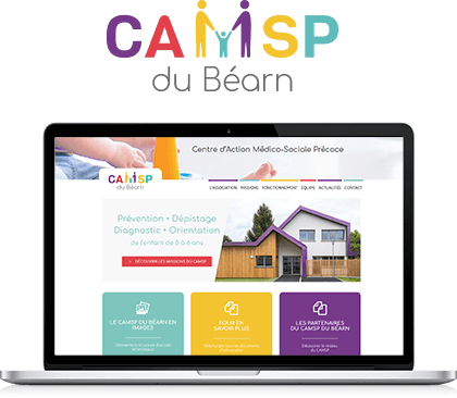 Accueil du site CAMSP du Béarn