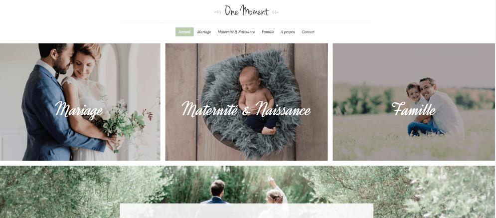 Site internet de Melodie Daignan, photographe