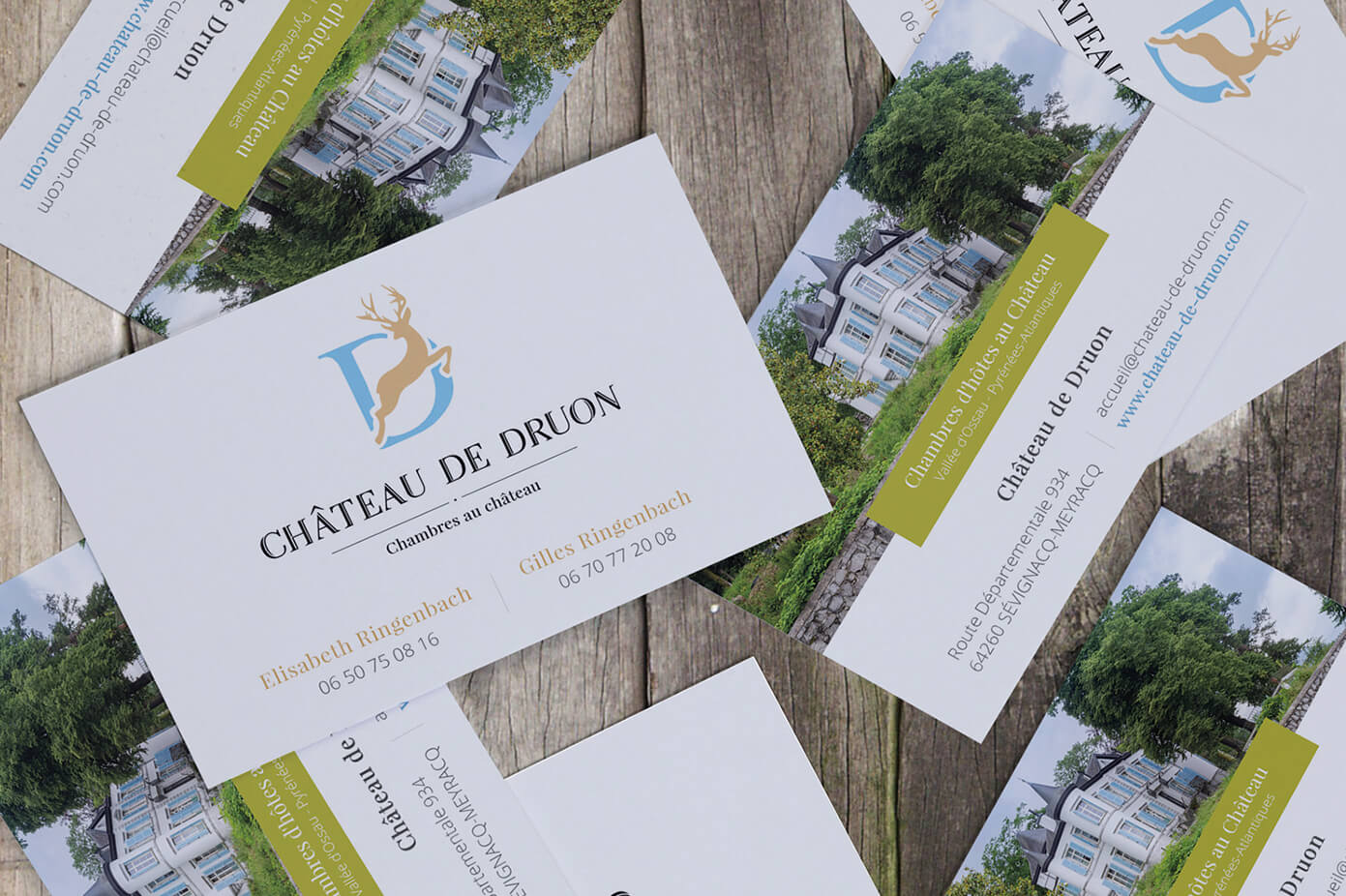 Cartes De Visites Chateau Druon